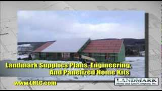 Panelized Home Kit by Landmark Home and Land Co.