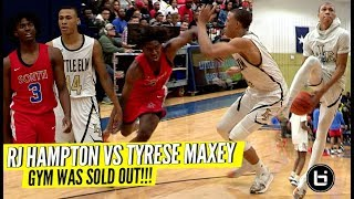RJ Hampton VS Tyrese Maxey! Crazy 5-Star Matchup!