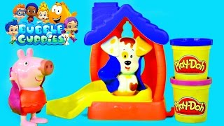 Bubble Guppies Color Changer Bathtime Puppy Play Doh Muddy Peppa Pig Water Changing Toys by DCTC