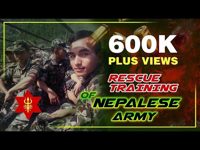 Nepalese Army Training