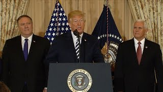 Pres. Trump addresses border family separation at meeting  with National Space Council   ABC News