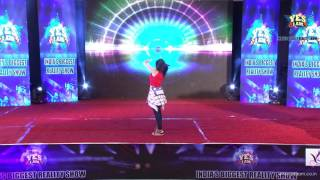 Performance of Vidhi Patel  at Mega2 Audition of YES I AM Reality Show