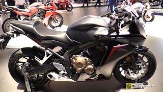 2017 Honda CBR650F - Walkaround - Debut at 2016 EICMA Milan