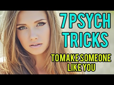 7 Psychological Tricks To Get Someone To Like You