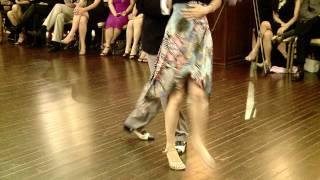 2011 1st Shanghai Tango Festival Chinese Milonga Performance 6 - Derrick Lee y Agnes Tang