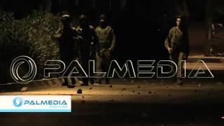 مواجهات بين الشبان و جنود الاحتلال -مخيم بلاطة - نابلس- فجر الجمعة -  27-6-2014