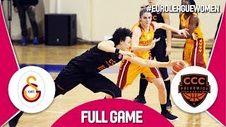 Galatasaray (TUR) v CCC Polkowice (POL) - Full Game - EuroLeague Women 2017-18