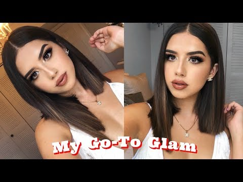 Xxx Mp4 My Go To Glam Makeup Look Amanda Diaz 3gp Sex