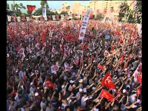 MHP Genel Başkanı Sn. Devlet Bahçeli nin Adana Seçim Gezisi ve Miting 9 455