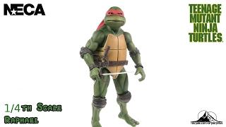 NECA TOYS Teenage Mutant Ninja Turtles 1/4 Scale RAPHAEL Review
