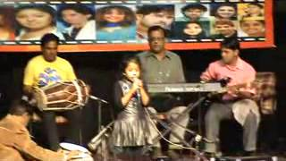 Shreya basu singing in Sangam Kala Group Audition