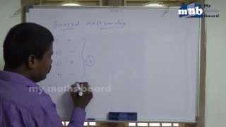 the maths basic fundamentals of addition and subtraction lesson 1