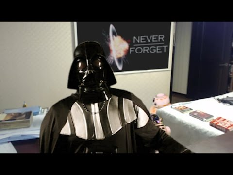 Droids Interrupt Darth Vader Interview Parody of Children Interrupt BBC Interview