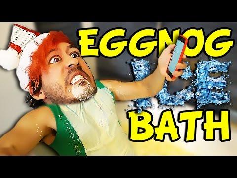 EGGNOG ICE BATH