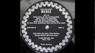 Maria Callas -Vinyl Records - Medea Finale Compilation
