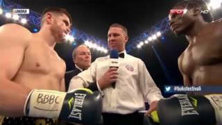 world heavyweight boxing championship 2016 ı Paddy Gallagher vs Tamuka Mucha