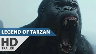 The Legend of Tarzan Trailer 2 (2016) Margot Robbie, Christoph Waltz Movie HD