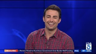 Jonathan Bennett on his Cameo in Ariana Grande