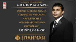 A R Rehman Telugu Hits | Jukebox | Rehman Old Hits