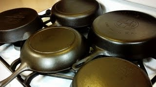 Cast Iron Restoration and Maintenance   From Start to Finish