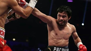 Manny Pacquiao vs Jessie Vargas fight highlights - HD