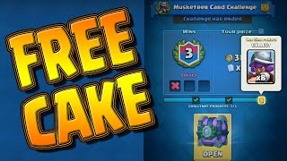 Too Easy --- CLUTCH Win In The Musketeer Challenge --- CLASH ROYALE
