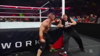 WWE John Cena vs Brock Lesnar Do not give up Quit match Summerslam August 20, 2017