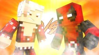 Minecraft: SUPER HEROES PVP #26 - BAN VS DEADPOOL‹ Ine ›