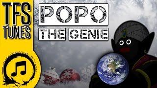Dragonball Z Abridged MUSIC: Popo the Genie (Frosty the Snowman Parody)