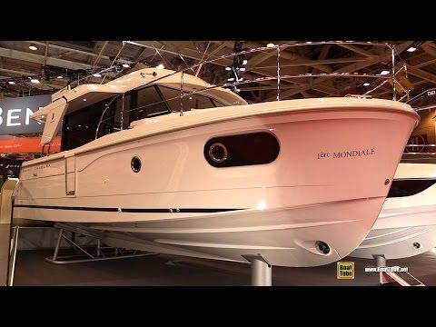 2016 Beneteau Swift Trawler 30 Deck and Interior Walkaround 2015 Salon Nautique de Paris