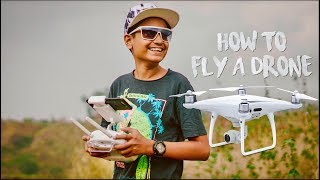 HOW TO FLY A DRONE !!