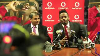 Diamond Platnumz - Vodacom Press Conference