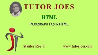 paragraph Tag in HTML Tamil class-5