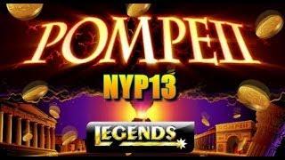 Aristocrat: Legends Series - Pompeii Deluxe Slot Bonus