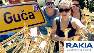 Guča 2017 – BEST moments from trumpet festival with Czech girls!