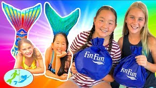 What's in my Bag from the Fin Fun Mermaid Pool Party?