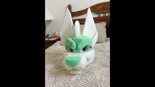 Doberman Fursuit Head Progress (1/2)