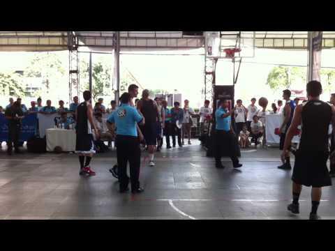 NBA 3X Men Open Semifinal round @ Central World 22th October 2012