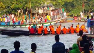 boat race in bangladesh 2016(part 1)