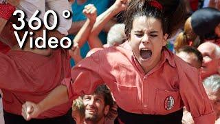 Catalan Castellers - 360 Video