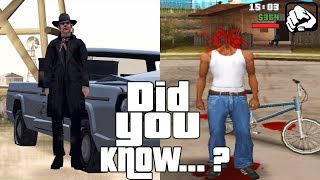 GTA San Andreas Secrets and Facts 7