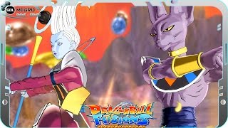 Beerus (Bills) and Whis EX FUSION: Beerusis VS Black Goku SSJ White Dragon Ball Super Fusions