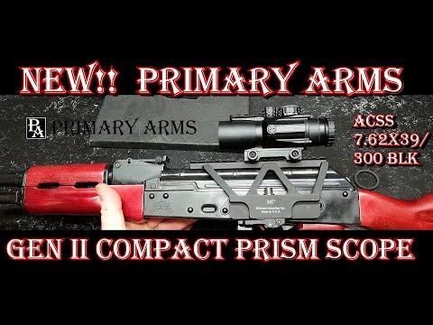 Xxx Mp4 NEW Primary Arms Gen II 3X Compact Prism Scope ACSS 7 62x39 300BLK CQB 3gp Sex
