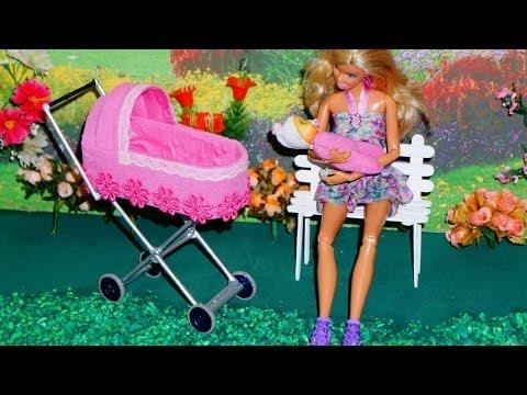 Como fazer um Carrinho de Bebê #2 para bonecas Monster High, Barbie, etc