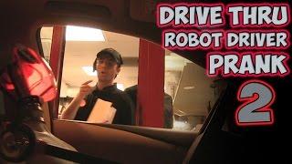 Drive Thru Robot Driver Prank 2