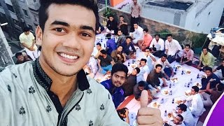 Taskin Ahmed er ‎Iftar‬ party and fun With friends and Bhai Brothers