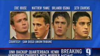 UNH Backup Quarterback Charged With Murder
