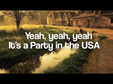 watch Party in the USA-The Barden Bellas-Pitch Perfect-Lyrics