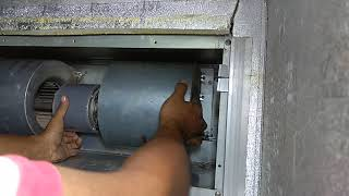 Tutorial cuci AC split duct