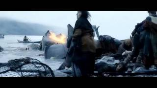 The Hobbit - People of Laketown after the dragon attack